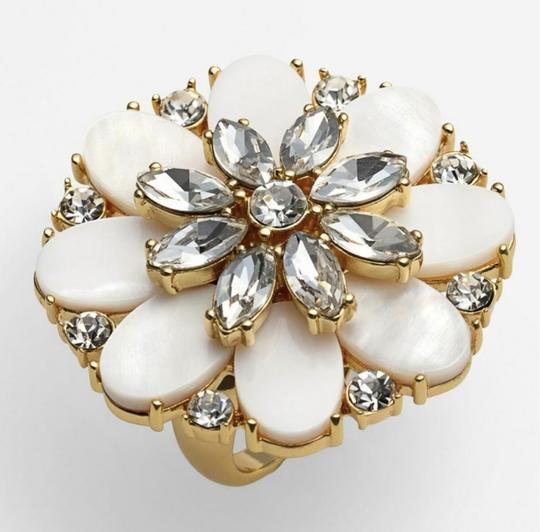 Kate Spade NEW Bungalow Bouquet Cocktail Ring Image 5