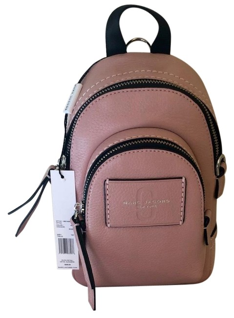 Item - Crossbody New - Mini Double Pack Rose Leather Backpack
