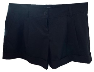 Sisley Cuffed Shorts black