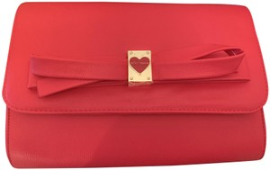Betsey Johnson Heart Clutch Cross Body Bag