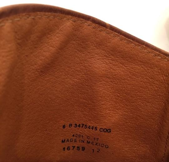 Frye Melissa Seam Leather Brown Boots Image 6