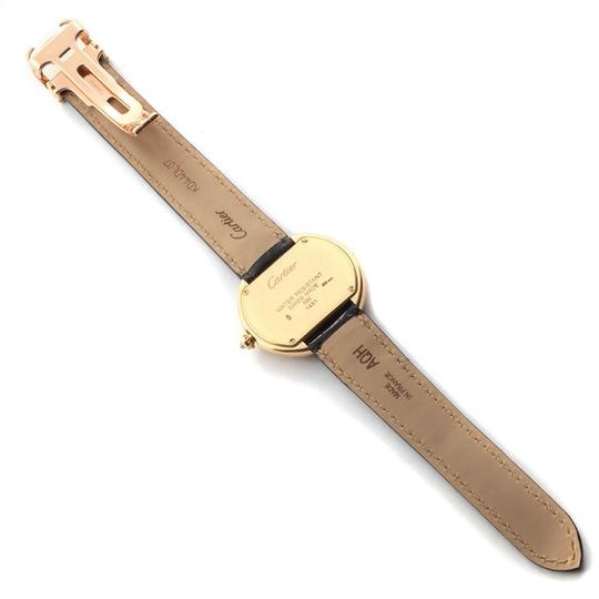 Cartier Cartier Tortue 18K Yellow Gold Diamond Silver Dial Ladies Watch 1481 Image 7