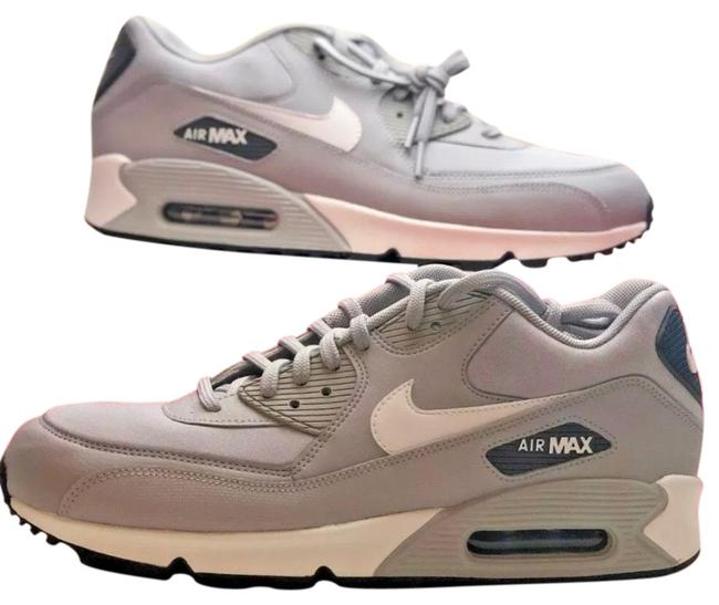 Item - Wolf Grey/White Air Max 90 Sneakers Size US 11 Regular (M, B)