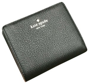 Kate Spade Kate Spade Larchmont Avenue Small Shawn Black Card Case Coin Wallet