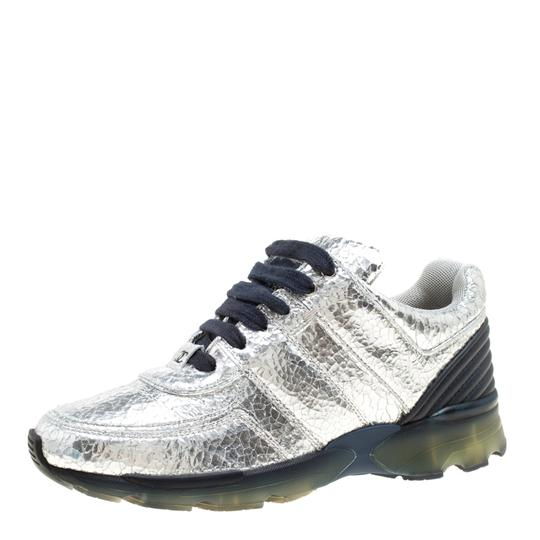 Chanel Silver Metallic Athletic Image 1