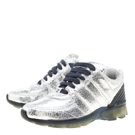 Chanel Silver Metallic Athletic Image 2