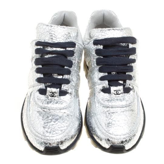 Chanel Silver Metallic Athletic Image 5