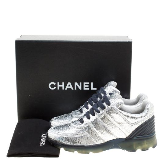 Chanel Silver Metallic Athletic Image 8