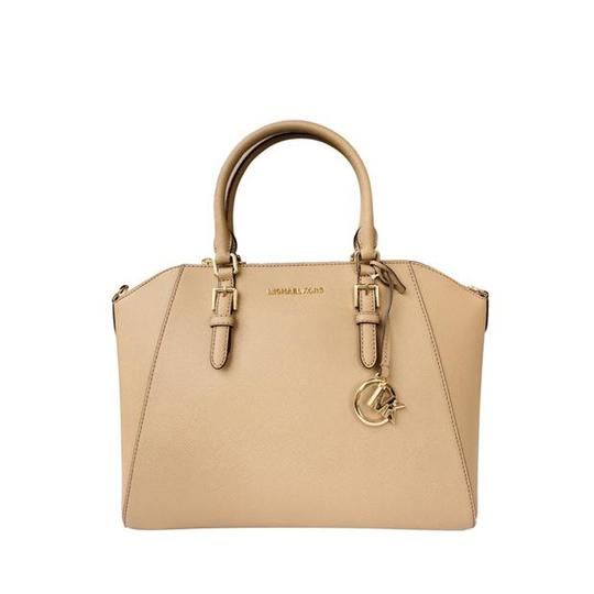 Michael Kors Crossbody Satchel in Dark Khaki Image 1