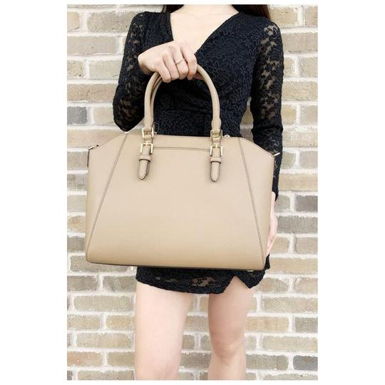 Michael Kors Crossbody Satchel in Dark Khaki Image 2