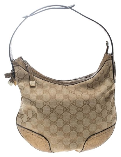 Preload https://img-static.tradesy.com/item/25493651/gucci-beigegold-gg-canvas-and-small-princy-beige-leather-hobo-bag-0-1-540-540.jpg