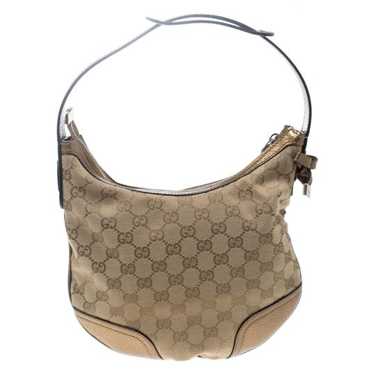 Gucci Gold Hobo Bag Image 1