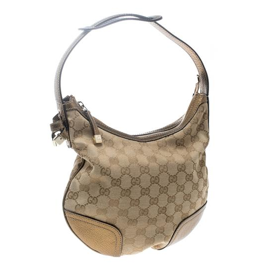 Gucci Gold Hobo Bag Image 3