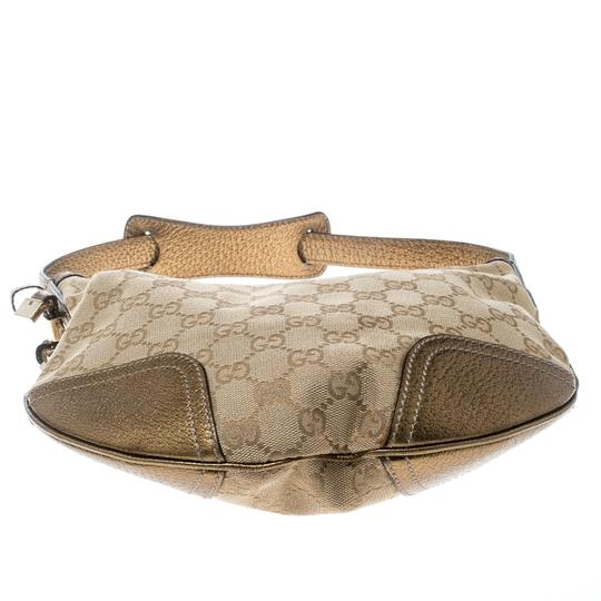 Gucci Gold Hobo Bag Image 4