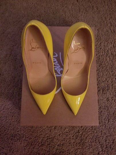 Christian Louboutin Sun Yellow Pumps Image 1