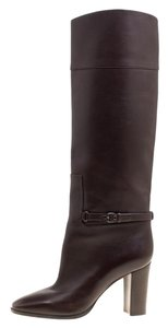 Christian Louboutin Leather Knee Brown Boots