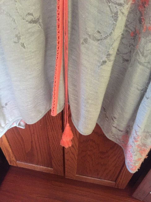 Free People Kimono Cape Distressed Cover Up Sweater Image 7