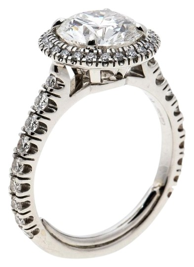 Preload https://img-static.tradesy.com/item/25493865/cartier-silver-1895-destinee-208ct-solitaire-platinum-halo-engagement-size-51-ring-0-1-540-540.jpg