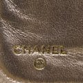 Chanel Gold Patent Leather Lucky Symbols Zip Around Wallet Image 7