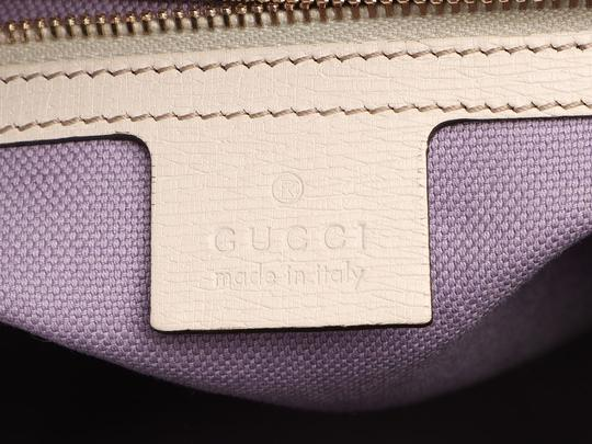 Gucci Gc.q0424.07 Floral Print Gold Hardware Reduced Price Satchel in Multicolor Image 8
