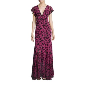 black and pink Maxi Dress by MILLY