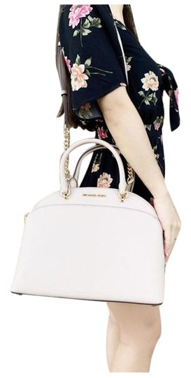 Preload https://img-static.tradesy.com/item/25494092/michael-kors-emmy-large-cindy-dome-ballet-saffiano-pink-satchel-0-1-540-540.jpg
