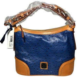 Dooney & Bourke Leather Shoulder Hobo Bag