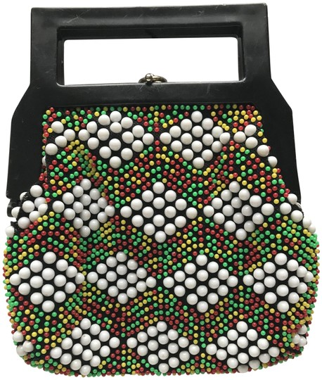 Preload https://img-static.tradesy.com/item/25494145/one-of-a-kind-hong-kong-50s-vintage-multicolor-cotton-beads-clutch-0-1-540-540.jpg