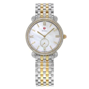 Michele Gracile Mother of Pearl Quartz Ladies Watch MWW26A000003