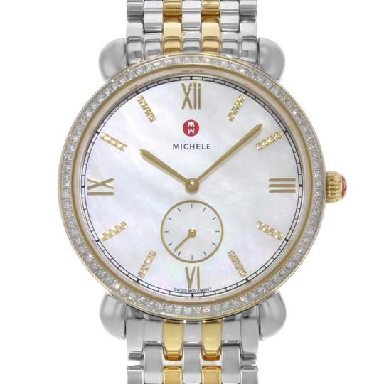 Michele Gracile Mother of Pearl Quartz Ladies Watch MWW26A000003 Image 1