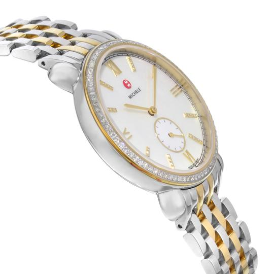 Michele Gracile Mother of Pearl Quartz Ladies Watch MWW26A000003 Image 3
