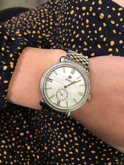 Michele Gracile Mother of Pearl Quartz Ladies Watch MWW26A000003 Image 6