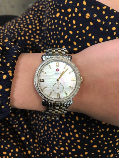 Michele Gracile Mother of Pearl Quartz Ladies Watch MWW26A000003 Image 7