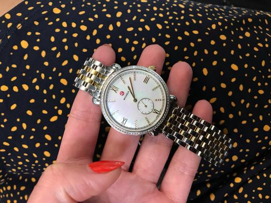 Michele Gracile Mother of Pearl Quartz Ladies Watch MWW26A000003 Image 8