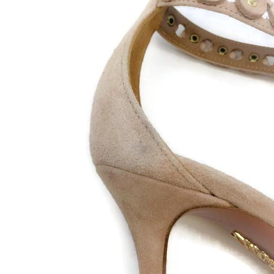 Aquazzura Blush Suede Pumps Image 10