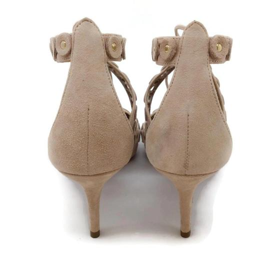 Aquazzura Blush Suede Pumps Image 7