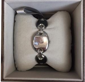 Gucci Auth Gucci Marina Stainless Steel Watch w/ Ceramic