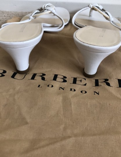 Burberry white Athletic Image 3