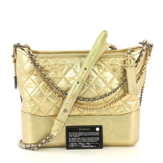 Chanel Quilted Calfskin Hobo Bag Image 1