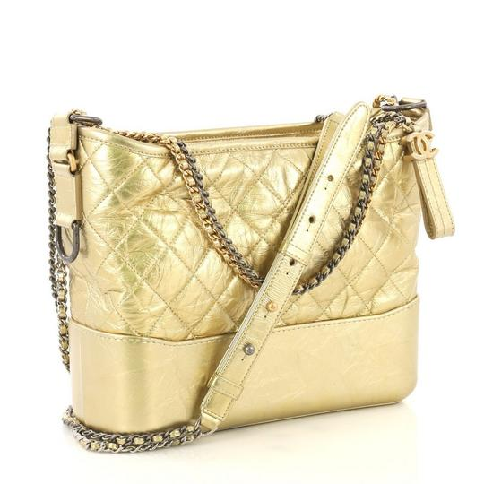 Chanel Quilted Calfskin Hobo Bag Image 2