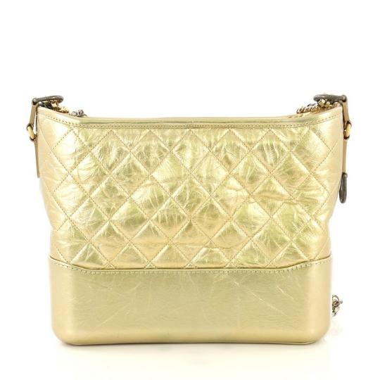 Chanel Quilted Calfskin Hobo Bag Image 3