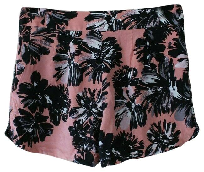 Preload https://img-static.tradesy.com/item/25494475/rebecca-taylor-pink-women-s-silk-gray-floral-style-814523-shorts-size-4-s-27-0-1-650-650.jpg