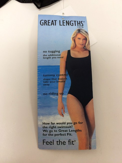 Great Lengths Great Lengths One piece Black Ruffle Bathing Suit Image 3