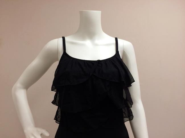 Great Lengths Great Lengths One piece Black Ruffle Bathing Suit Image 4