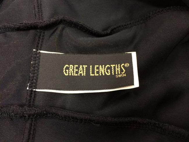 Great Lengths Great Lengths One piece Black Ruffle Bathing Suit Image 6