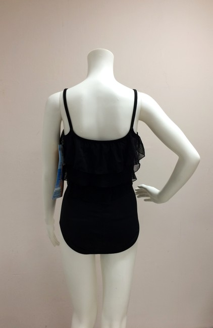 Great Lengths Great Lengths One piece Black Ruffle Bathing Suit Image 9