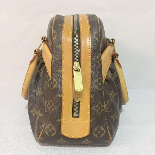 Louis Vuitton Monogram Mm Tote Lv Tote Lv Canvas Tote Lv Coated Canvas Tote Hobo Bag Image 4