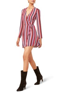 Reformation short dress Multi Stripe Bold on Tradesy