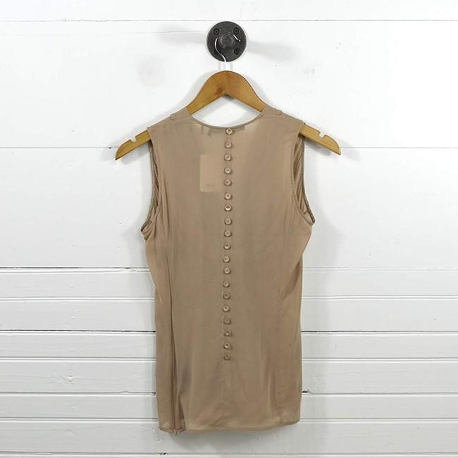 L.A.M.B. #taupe #mauve #work Office #modern #sheer Back Top PINK Image 2