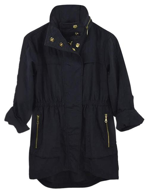 Preload https://img-static.tradesy.com/item/25495334/7-for-all-mankind-blue-gold-hooded-147-48-jacket-size-0-xs-0-1-650-650.jpg